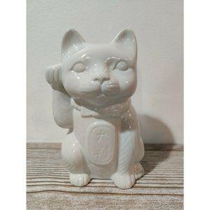 Lucky Cat Maneki Neko ceramic tiki mug S1C2